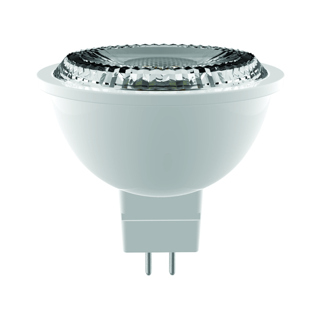 Bombillo LED MR16, 7W, 550Lms, 100-240V, 6500K, 20,000hrs, GU5.3, CE